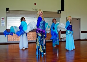World Dance Rehearsing at the Village Hall