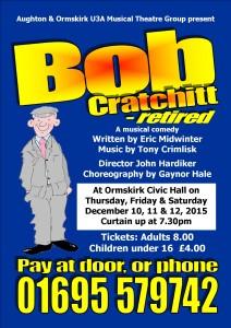 Musical Theatre - Bob Cratchitt Poster