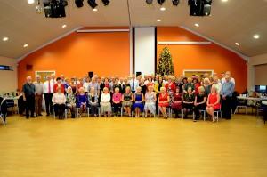 Ballroom Dancing Group Christmas Party 2015