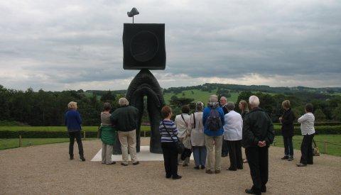 Art Appreciation day trip to the Sculpture Park, June 2012