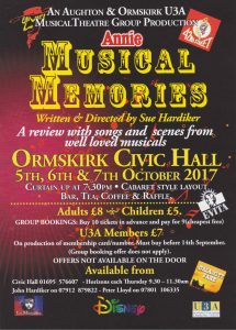 Musical Memories @ Ormskirk Civic Hall
