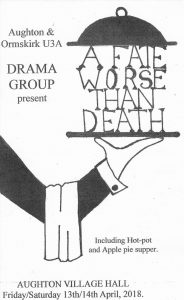 Drama Group Spring Shows @ Aughton Village Hall
