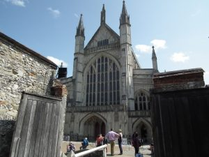 Talk about Winchester Cathedral @ Scout & Guide HQ