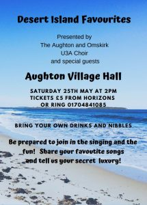 Desert Island Favourites @ Aughton Village Hall